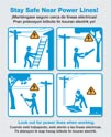 Power Line Safety Poster